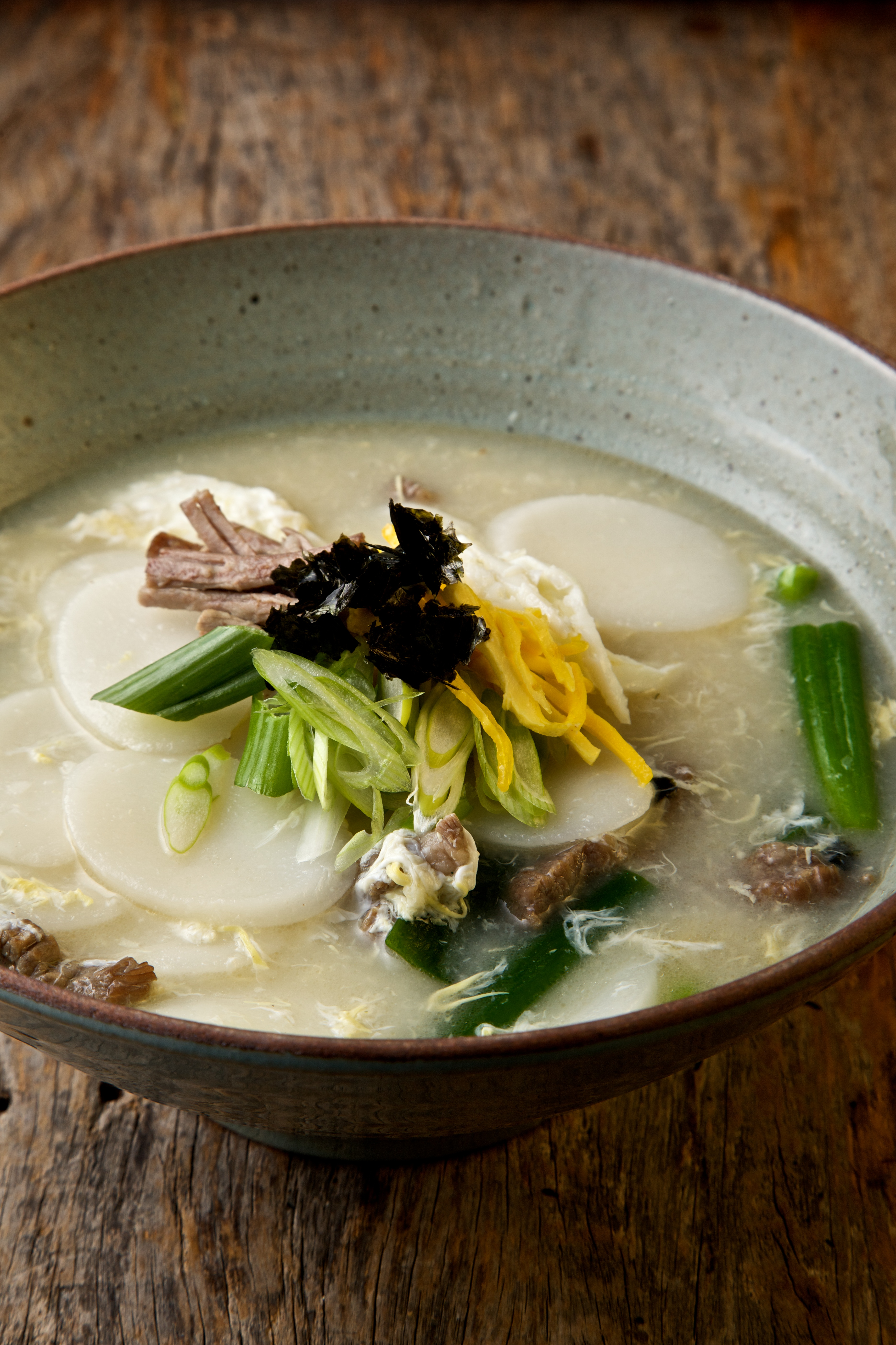 Rice Cake Soup With Brisket Kimchi Chronicles